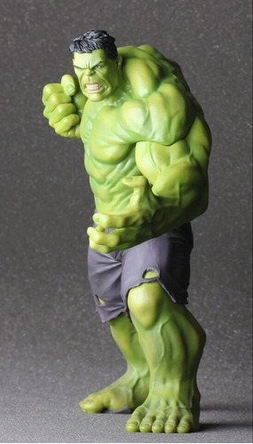 estatua hulk age of ultron 23 cms crazy toys