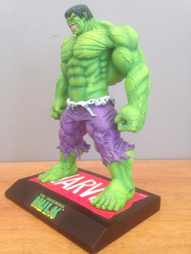 estatua incredible hulk maquette no sideshow, bowen