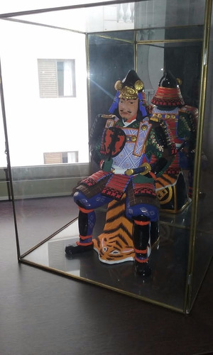 estátua samurai item raro coleção hakata (1 de 8)