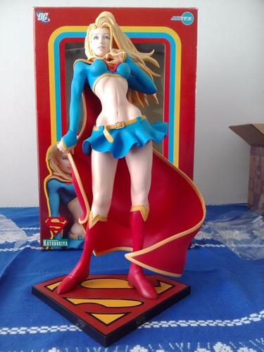 estátua supergirl - d c bishoujo statue