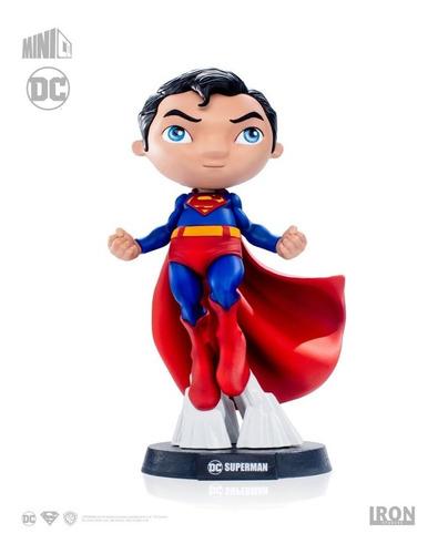 estátua superman - dc comics - mini co - iron studios