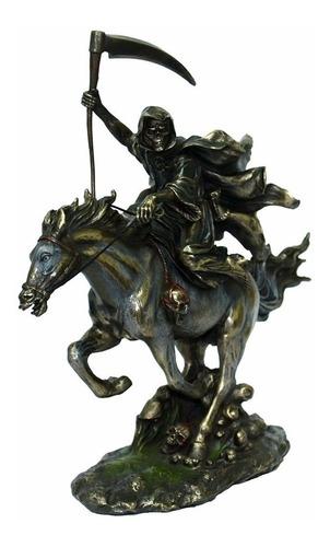 estatueta cavaleiro do apocalipse  decorativa ct 60373