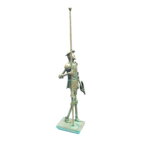 Estatueta D. Quixote Nº3 Arte Escultura De Alcir Scortegagna