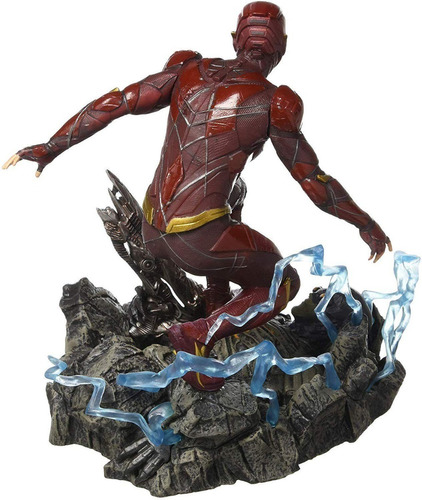 estatueta the flash justice league diamond select toys