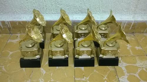 estatuilla premio grammy regalo original personalizado music