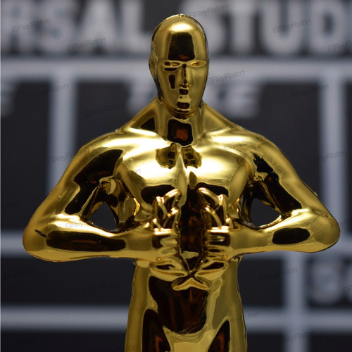 estatuilla premio oscar hollywood fiesta temática