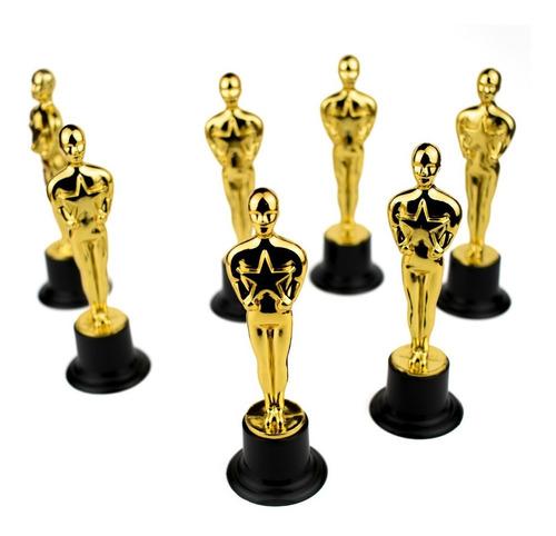 estatuilla premio oscar hollywood fiesta temática chico m25