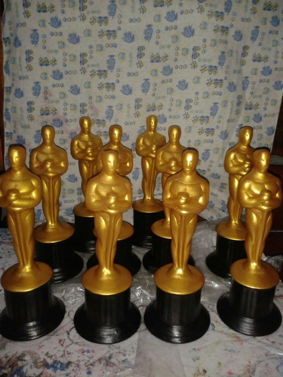 Estatuillas premios scar bizcochos de cer mica regalos for Bizcochos de ceramica