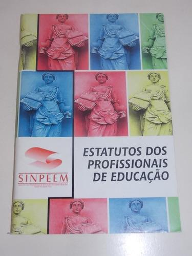 estatuto dos profissionais da educação