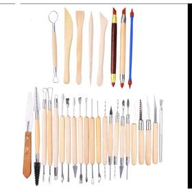 Estecas 30 Peças/ferramentas De Modelagem Em Clay