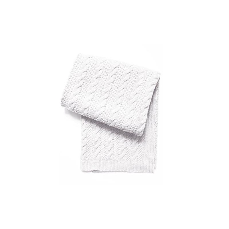 Esteffi Cable Knit Mezcla De Lana Bebé Manta, Marfil - $ 2,049.28 en ...
