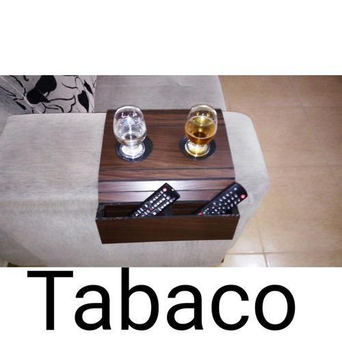 esteira-bandeja flexível para braço de sofá controle caixote