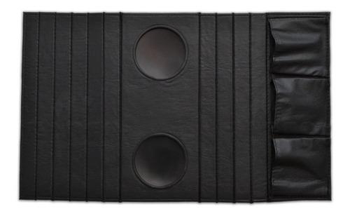 esteira bandeja sofá porta copos controle preta frete grátis
