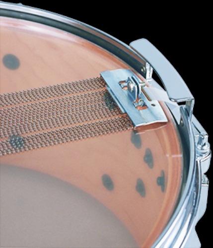 esteira de caixa fat cat snappy snares carbon 10¨ com 24 fio