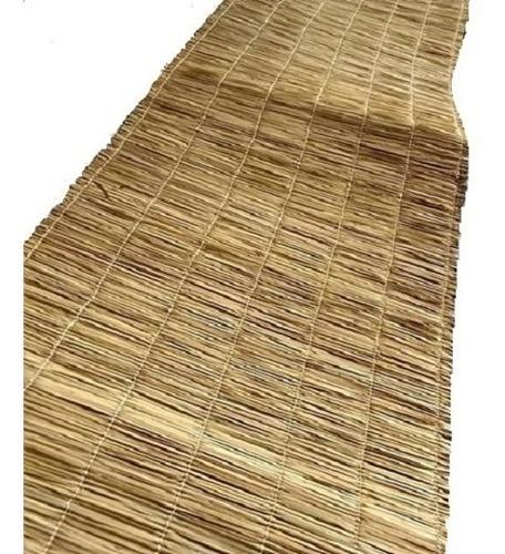 esteira de palha 2,50m tapete pergolado painel 6und