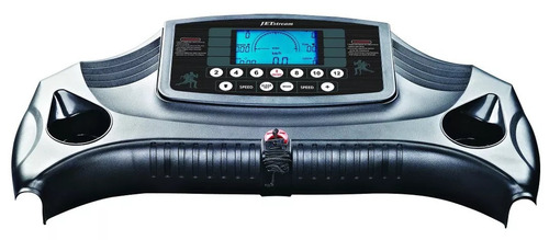 esteira elétrica profissional jdm 4300 lcd - jet stream
