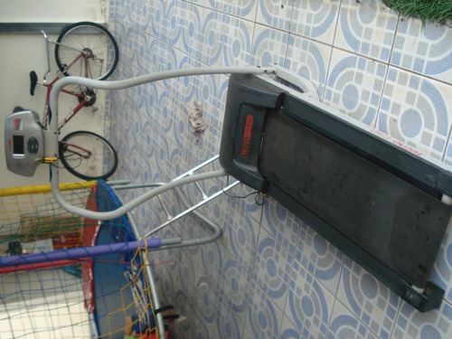 esteira elétrica tecnofitness eletronic 1000 - 20 km/h bivol