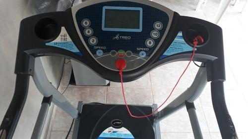 esteira eletrônica dobrável johnson health treo t101
