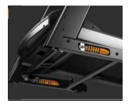 esteira ergométrica elétrica dobrável oneal bf780 mp3 usb