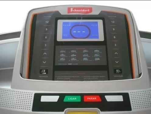 esteira ergométrica profissional schneiders 610 ie 3.0hp