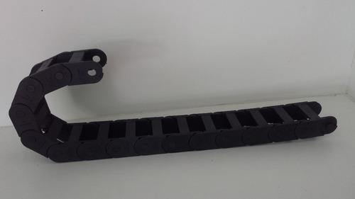 esteira flexivel para passagem de cabos hidraulicos