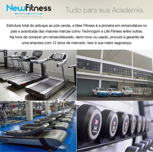 esteira life fitness 95 integrity remanufaturada