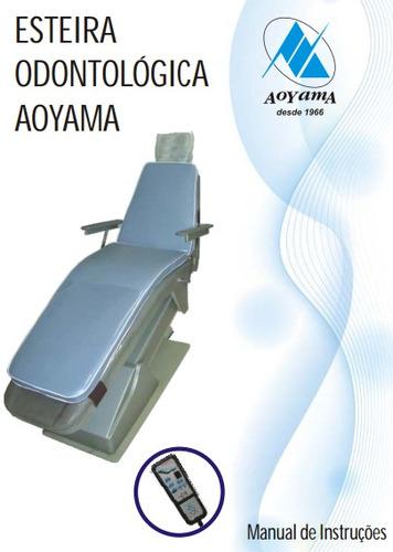 esteira odontológica massageadora aoyama