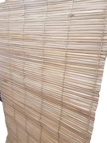 esteira palha 3,20m 2 unid tapete  decoração  pergolado