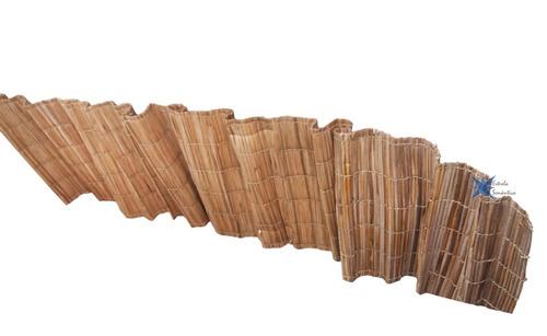 esteira palha 4,5x1,0m 6 und pergolado tapete passadeira