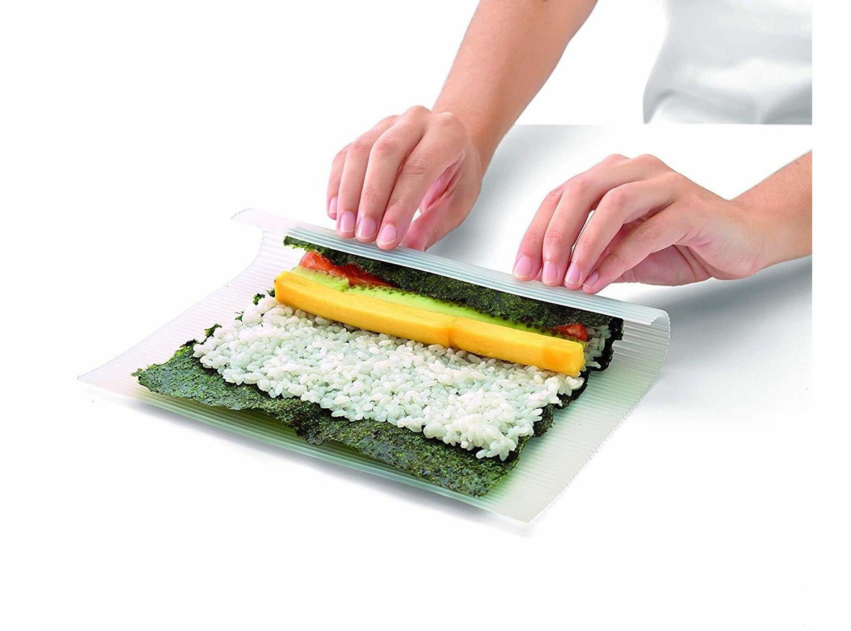 Estera De Sushi De Silicona Makisu, Transparente - $ 43.000 en Mercado Libre