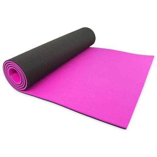 estera de yoga, goflx8482; gym pilates alfomb + envio gratis