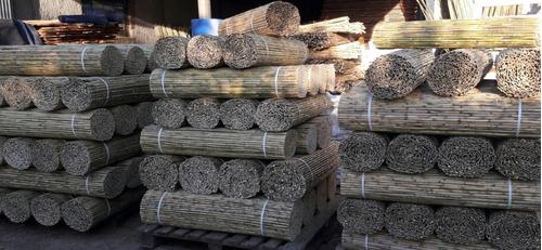 esteras de cañizo,junco y madera