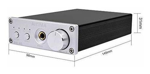 estéreo aiyima dac convertidor 24bit / 192khz digital audio