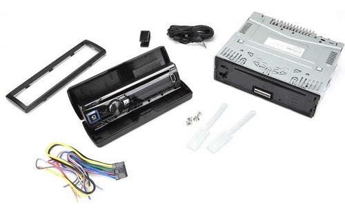 estereo alpine cde 163bt usb bluetooth iphone instalado
