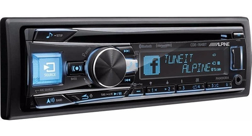 estereo alpine cde-164bt bluetooth cd mp3 usb android iphone