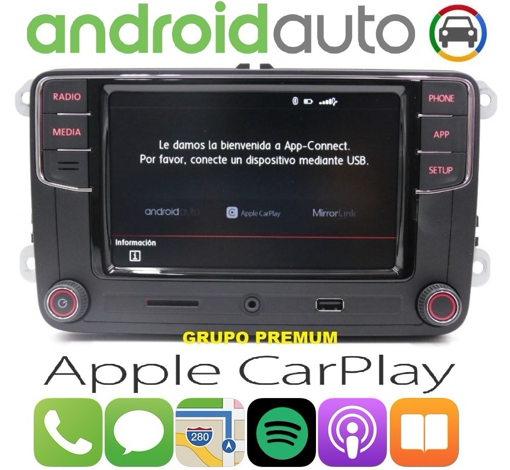 estereo android auto jetta vento amarok gol polo bora. Black Bedroom Furniture Sets. Home Design Ideas