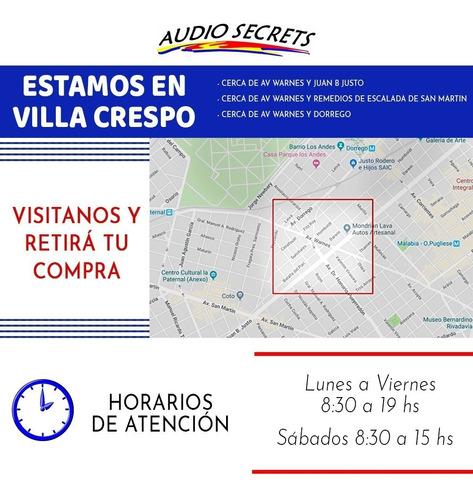 estereo boss 622 : usb-aux-sd radio c. remoto