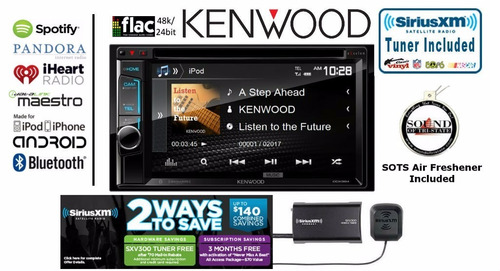 estereo de pantalla kenwood excelon ddx394 usb aux bluetooth