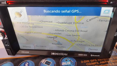 estereo de pantalla soundstream gps mex, usa dvd usb aux mp3