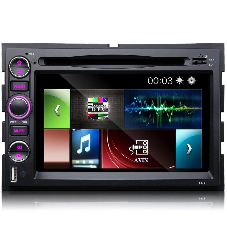 Estereo Dvd Gps Ford Explorer Expedition Lobo Fusion Mustang D Nq Np Mlm F