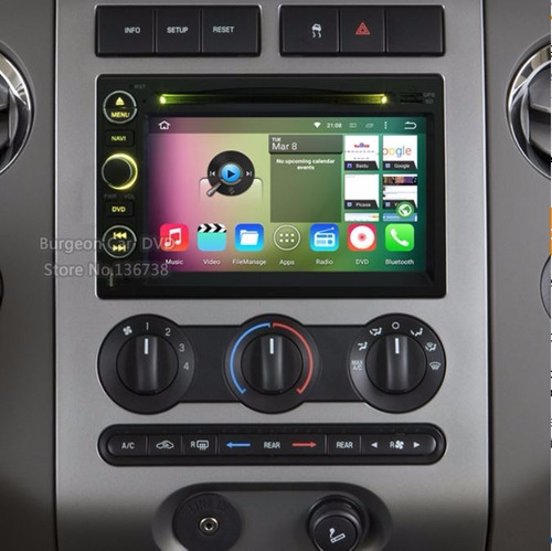 estereo ford varios android6.0 7pulg 2gbram 32gbrom 8nucleos