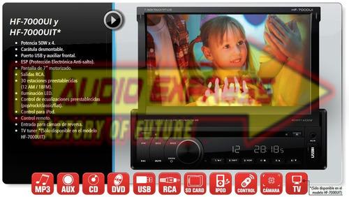 estereo hf7000uib con touchscreen usb ipod
