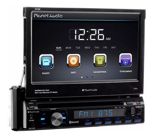 estereo indash planet audiop9759b dvd/aux/usb/bt/cd instalad