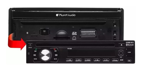 estereo indash planet audiop9759b dvd/aux/usb/bt/cd instalad