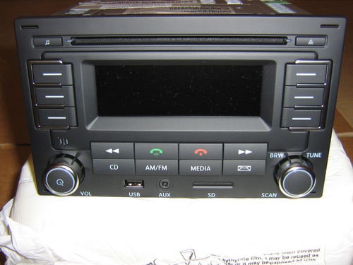 estereo jetta clasico golf bluetooth radio original vw
