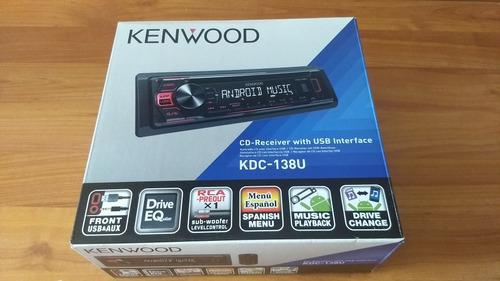 estereo kenwood kdc-138u