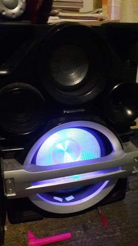 estéreo minicomponente panasonic sa-max750