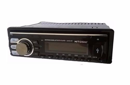 estereo mp3 sd radiousb frente desmontable + control + envio