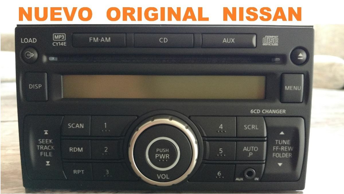 Estereo Nissan Nuevo Tiida Versa March Np300 Sentra Xtrail ...