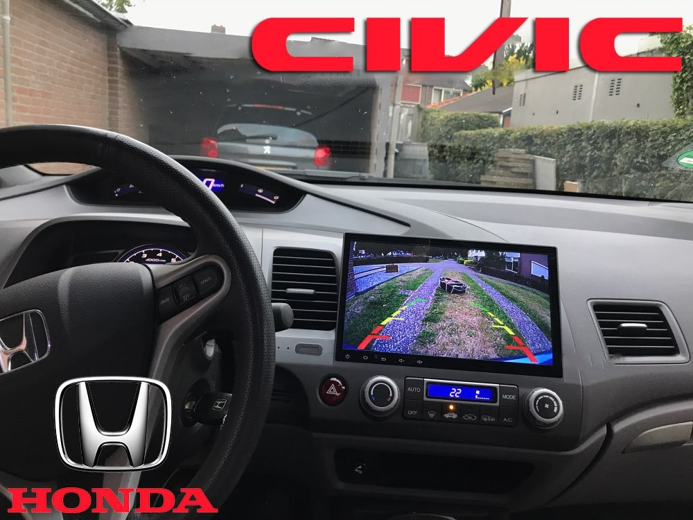 Estereo Pantalla Gps Honda Civic Usb Pantalla Cam Android